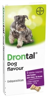 Bayer Drontal Ontworming Hond 6 Tabletten-0