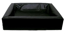 Hondenmand Bia Bed Hoes Zwart 120 cm-0