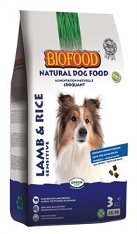 Biofood Lam en Rijst 3kg-0