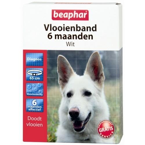 Beaphar Vlooienband zwart 6 maanden-0