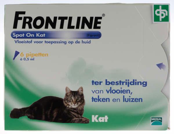 FRONTLINE SPOT ON voor de KAT (6 pipetten)-15