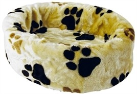 Hondenmand bontmand beige poot 74 cm-0