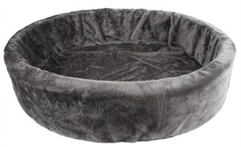 Hondenmand bontmand grijs 74 cm-0
