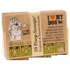 Hondenpoepzakjes bundel 10 stuks i love my dog-0