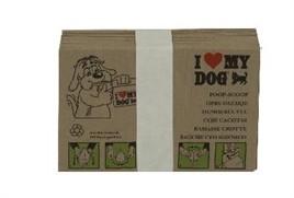 Hondenpoepzakjes bundel 10 stuks i love my dog-20282
