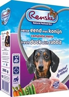 Renske vers vlees eend & kalkoen 395 gram-0
