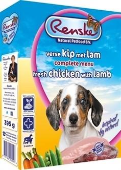 Renske vers vlees puppy 395 gram-0