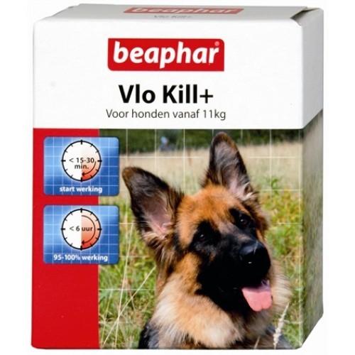 BEAPHAR - VLO KILL voor HOND en KAT (vanaf 11kg - 6 tabletten)-0