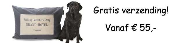Hondenkussen Lex & Max