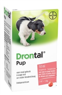 Bayer Drontal Ontworming pup 50 ml-0