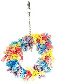 Papegaaienspeelgoed Flos Ring 28 cm-0