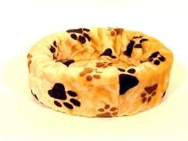 Hondenmand bontmand beige poot 66 cm-0