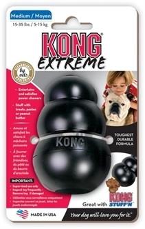 KONG Extreme Zwart Medium-0