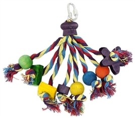 Papegaaienspeelgoed carnival 22 cm-0