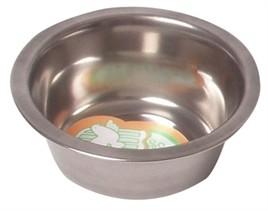 Hondendrink en eetbak rvs 28CM-0