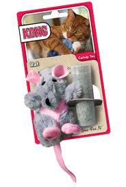 KONG kattenspeeltje met catnip rat-0