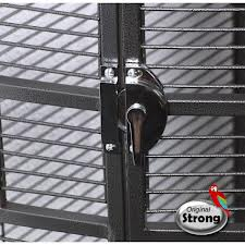 Papegaaienkooi nadia silverstone grijs xl-8487