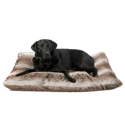 Hondenkussen Bont Royal Fur Zilvervos-0