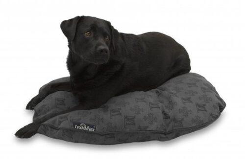 Hondenkussen Lex&Max ovaal ALLURE 100 antraciet-0