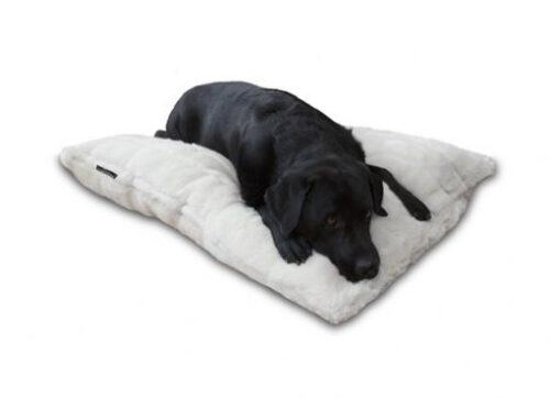 Hondenkussen Royal Fur ecru-0