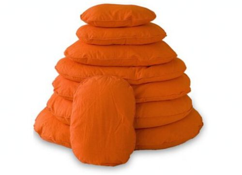Hondenkussen ovaal TIVOLI 100 oranje-0
