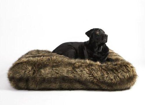 Hondenligzak Royal Fur Wolf 90x60x21 cm-0