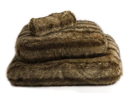 Hondenligzak Royal Fur Wolf 90x60x21 cm-4298