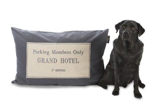 Hondenkussen Grand Hotel Antraciet-0