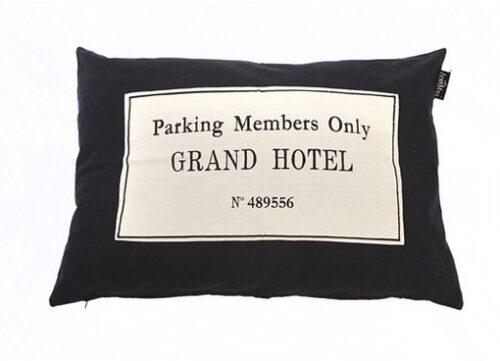 Hondenkussen Grand Hotel Zwart-0