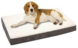 Orthopedisch hondenkussen Ortho grijs 100cm-0