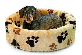 Hondenmand Poot Beige 110-0