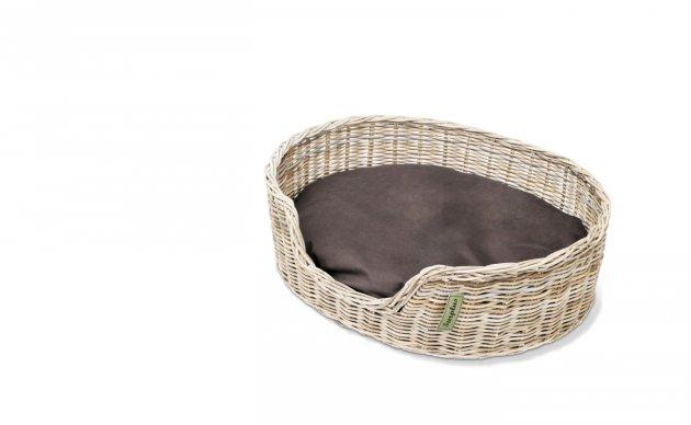 Rieten Hondenmand Basket 80CM-8851
