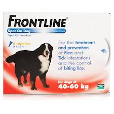 Laagste prijs Frontline Spot On XL 40-60KG-0
