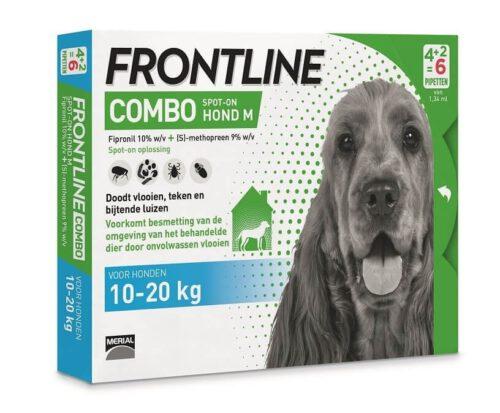 Laagste prijs Frontline Combo M 10-20kg 6 pipetten-0