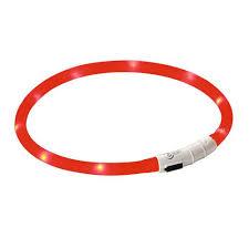 Halsband LED maxi safe rood-7339