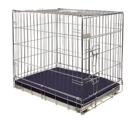 Hondenbench met ligkussen 76 cm-0