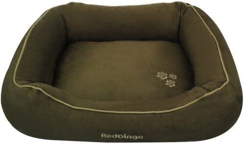 Hondenmand Red Dingo Donut Deep Olive Small-0