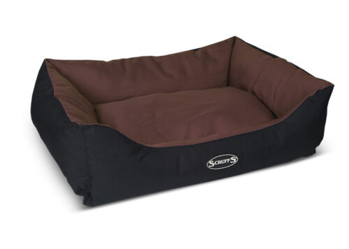 Hondenmand Expidition Box Bed Chocolate M-0