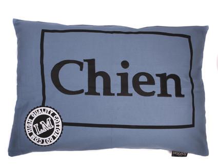 Hondenkussen Chien Faded Blue-0