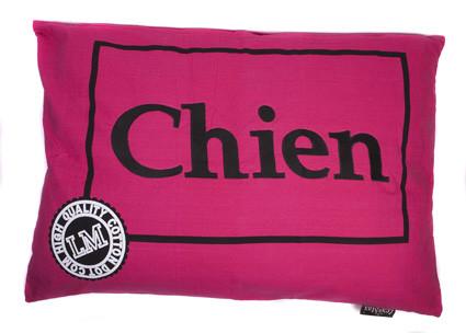 Hondenkussen Chien Fuchsia-0
