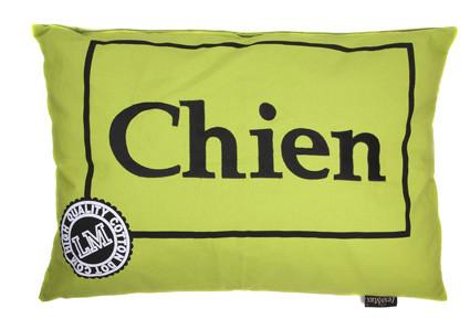Hondenkussen Chien Lime-0
