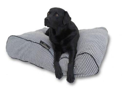 Hondenkussen Ligzak Amalia Zwart Ecru-0