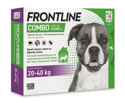 Frontline Combo L 6 pipetten ( laagste prijs van Nederland )-0