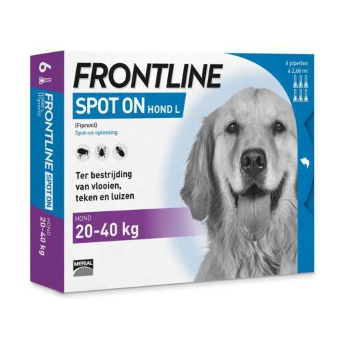 Frontline Spot On L 6 pipetten ( laagste prijs van Nederland )-0
