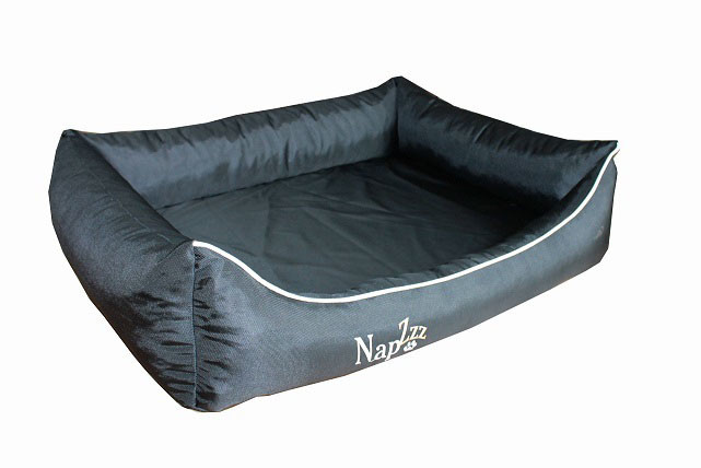 Hondenmand Napzzz Oxford Zwart 100 cm-0