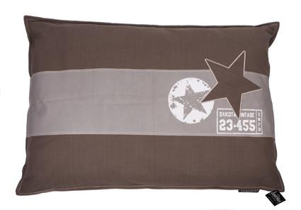 Hondenkussen Band Star Taupe-0