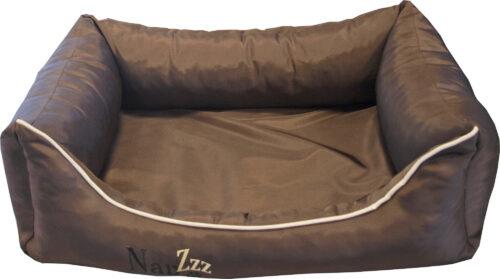 Hondenmand Napzzz Oxford Bruin 70cm-0