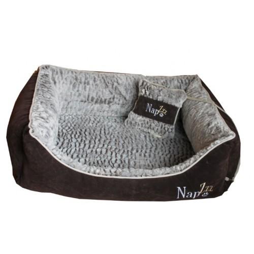 Hondenmand Napzzz Super Soft Bruin 90cm-0