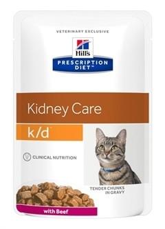 Hill's Prescription Diet Feline K/D Rund 85 gram-0