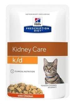 Hill's Prescription Diet Feline K/D Kip 85 gram-0
